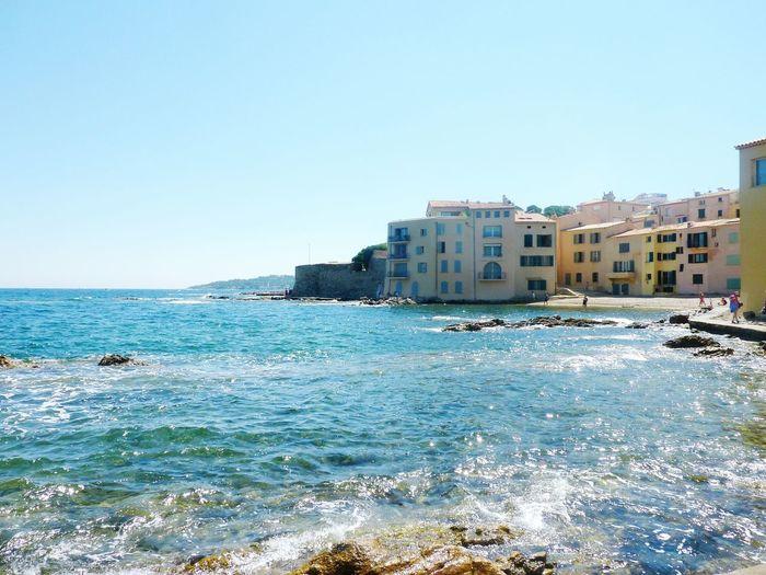 S T T R O P E Z France La Cote D'Azur Mer Mediterranée Plage Sun