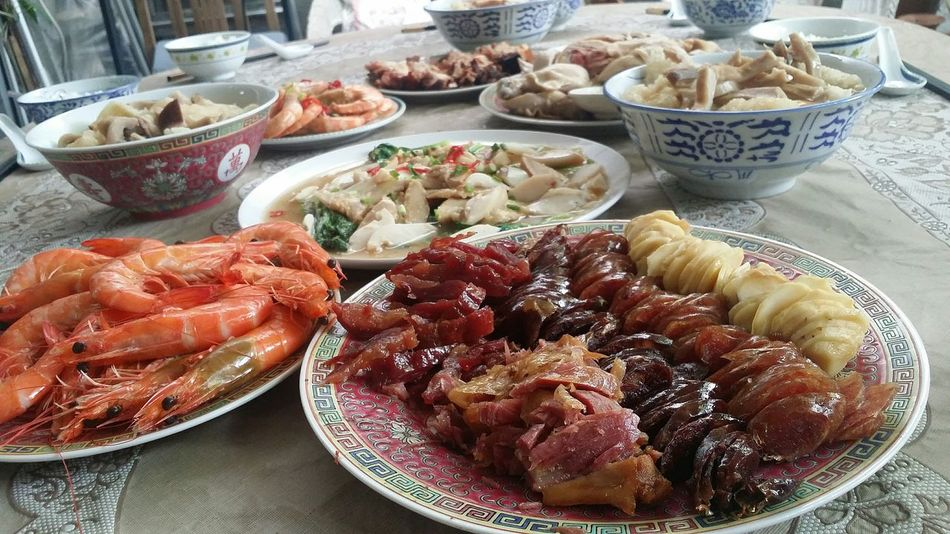 Chinese New Year First Day Lunch Chinese Food Cantonese Food Foodphotography Waxed Meat Cny CNY2017 Chinese New Year 2017 Singapore CNY Singapore