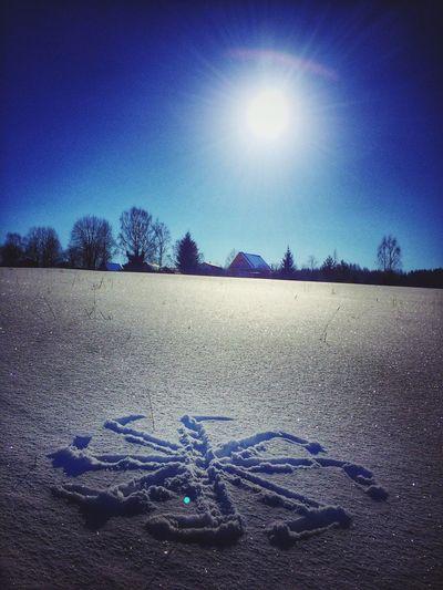 Sun Snow Winter Nature Коловрат русь ❄️☀️