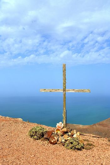 Nature Outdoors Landscape Day Cross Lanzarote
