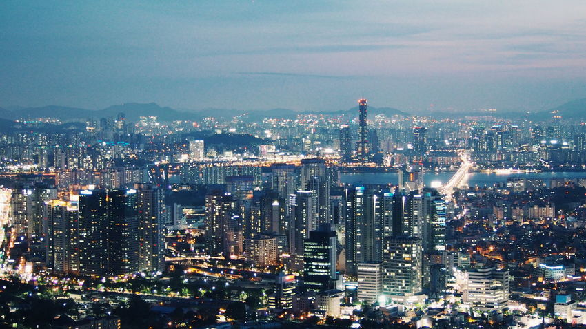 amazing seoul... Traveling Wanderlust Studyabroad Seoul Korea Travel VSCO Namsan Tower