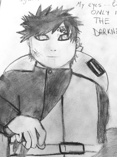 Relaxing Check This Out Art Sabaku no Gaara