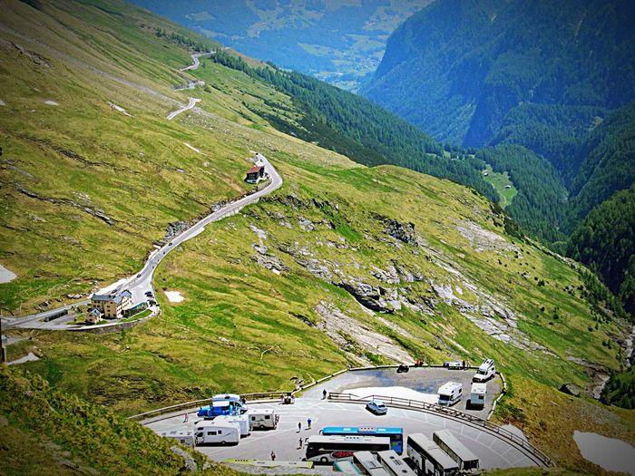Vanishing Point Hiking Wandern Berge Taking Photos Hello World Grossglockner-hochalpenstrasse Grossglockner Mountains