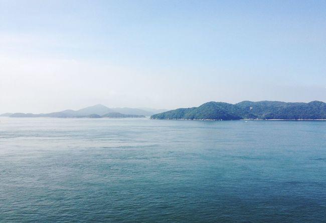 Summer Landscape Sea Blue