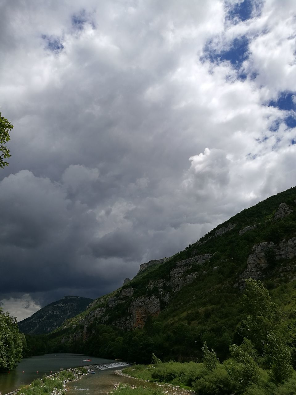 cloud - sky, sky, nature, tranquility, beauty in nature, mountain, scenics, outdoors, tranquil scene, no people, day, landscape, tree