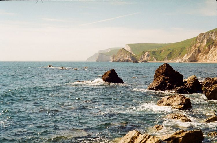 Taken by Praktica Prakticacamera Film Photography Film Is Not Dead 35mm Film Sea Water Nature Beach Outdoors Day Sky No People Beauty In Nature Travel Destinations