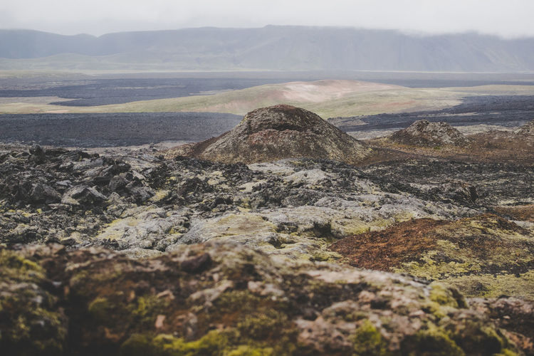 Iceland Beauty In Nature Day Environment Landscape Mountain Mountain Peak No People Non-urban Scene Outdoors Rock Scenics - Nature Solid Tranquil Scene Volcanic Landscape Volcano