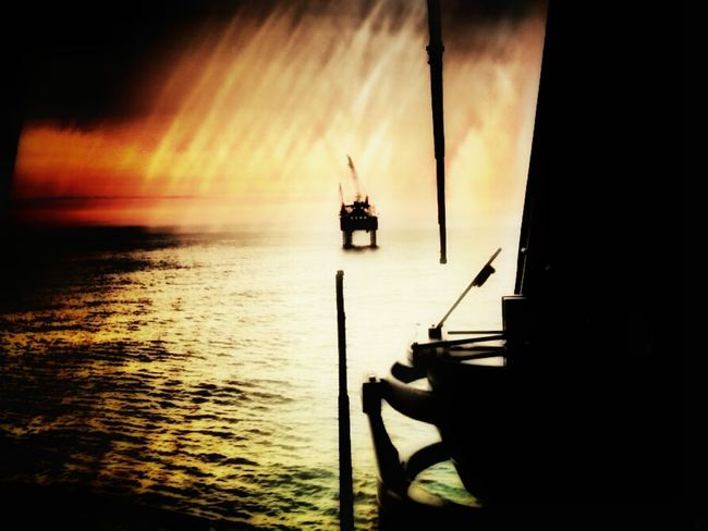 north sea Water Sea Nautical Vessel Sunset Reflection Horizon Over Water Sky AmatorPhotographer Pic Olympus Pen Sun Cool_capture_ Nostalgic  EyeEm Selects EyeEm Selects