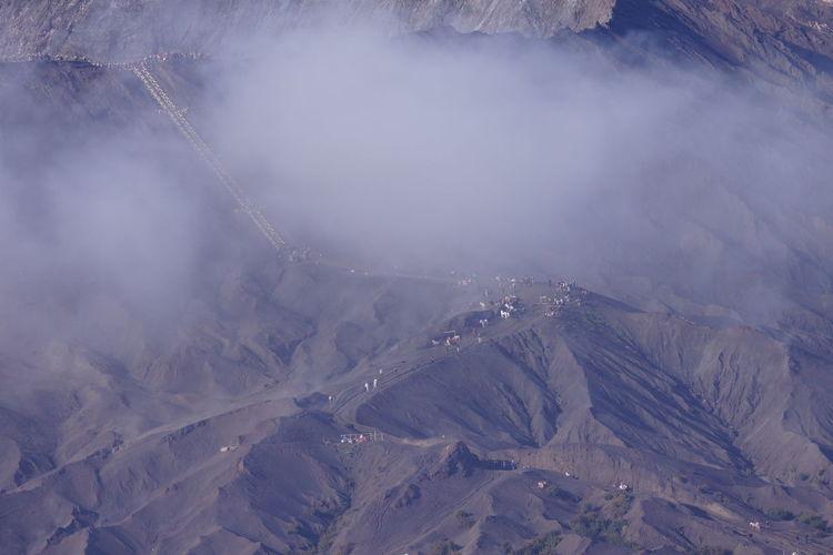 High Angle View Of Mountains