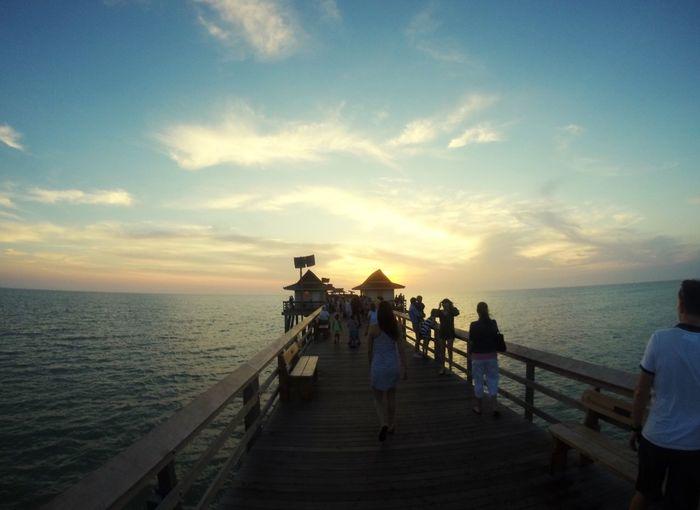 Sunest on the Pier at Naples GoPro Hero3+ Gopro