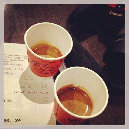 Best coffee in town? We'll see... ;) #tbex Bestcoffeeintown Lovedublin Coffee Tbex Fixx Travel Eosm Dublin Canon Kaffee EOS Coffeehouse Reisen Travelblog Travelblogger Canoneos