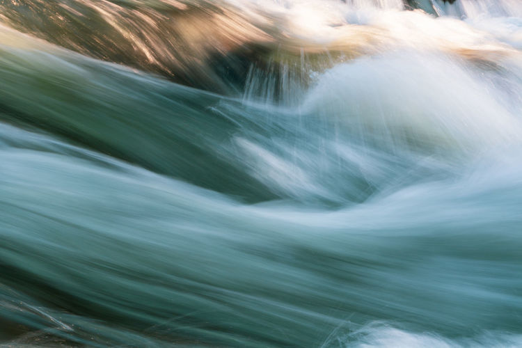Blurred Motion Motion Long Exposure Speed No People Full Frame Close-up Nature Beauty In Nature Scenics - Nature Day Backgrounds Abstract Water Outdoors Environment Flowing Water Waterfall Green Color Defocused Flowing