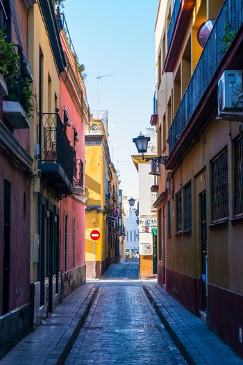 Streetphotography Seville Sevilla Colorful Colors Architecture Street España