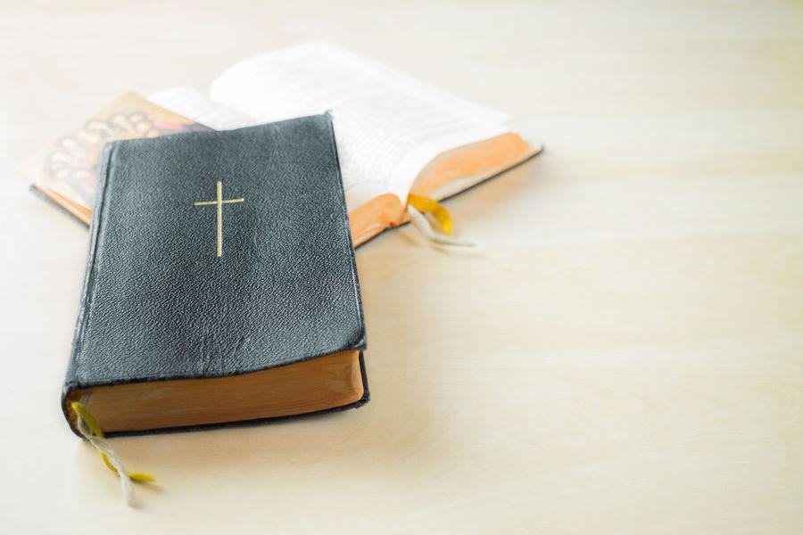 Christianity Church Copy Space Cross Faith God Bible Book Close-up Day Faithful Hymn Book Indoors  No People Religion Wisdom