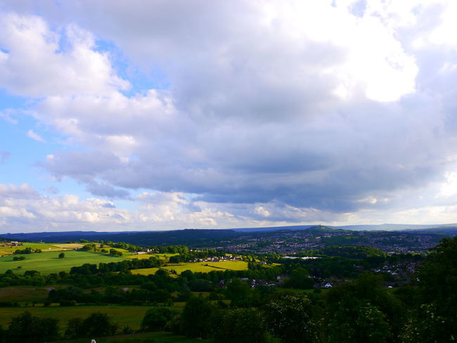 Beauty In Nature Cloud - Sky Day Field Growth Huddersfield June June 2017 Landscape Nature No People Outdoors Rural Scene Scenics Sky Tranquil Scene Tranquility Tree