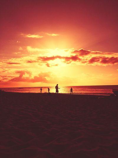 Pacific Blaze: paikura© SUNSET BEACH The Illusionist - 2014 EyeEm Awards EyeEm Best Shots Sun_collection Sunset Silhouettes