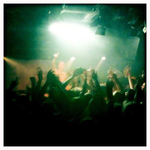 Die #Antwoord at #Magnet-Club in #Berlin, 2010.