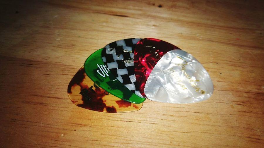 Picks Acoustic Guitar Close-up Table No People Music Musician Music Life Fender Jim Dunlop Proline