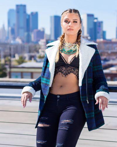 Desirae. Model Fashion Style Deep Ellum Dallas Texas