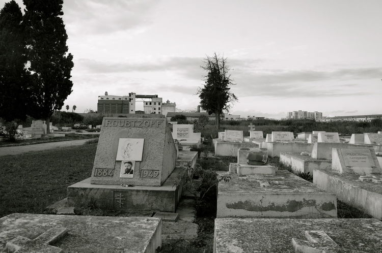 Afternoon Cimitery Dark Photography Monochrome No People Outdoors Tranquil Scene Tunis