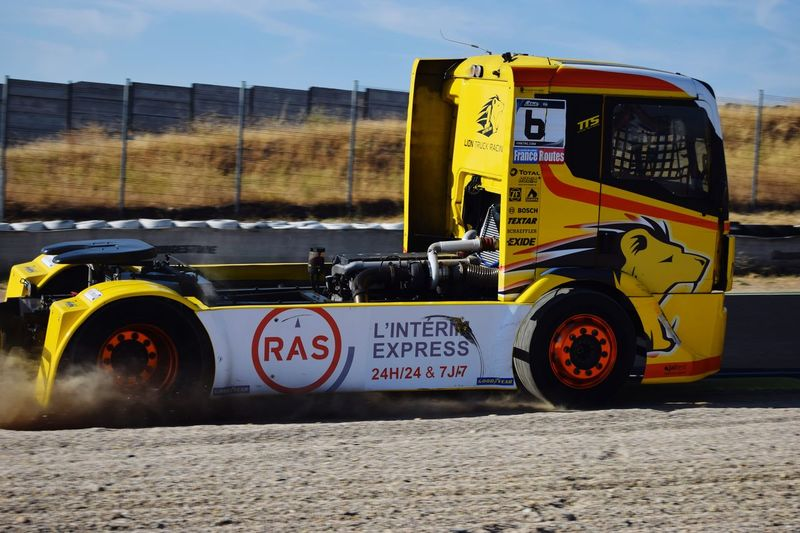Gp Camión Motion Speed Jarama Race Circuitodeljarama Camion Truck Fia Yellow Racetrack Truckracing