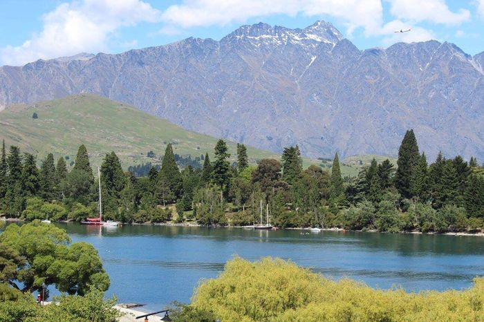 View from my hotel room in New Zealand. Mountains where Lord of the Rings was filmed. Mountain Nature Mountain Range Scenics Landscape Outdoors Sky Travel Destinations Beauty In Nature Nature LOTR Beauty In Nature Lordoftherings