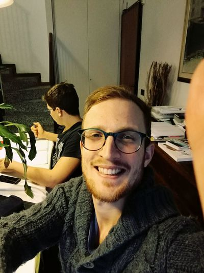 Eyeglasses  Indoors  Adults Only Small Business Happiness Beard Smiling Young Adult Colleague Teamwork Office Adult Businessman People Only Men Togetherness Responsibility Day Me Faces Of EyeEm Selfie ✌ Young Men
