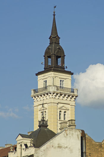 Church tower Architecture No People Day Sky Tower Low Angle View Religion Spirituality History