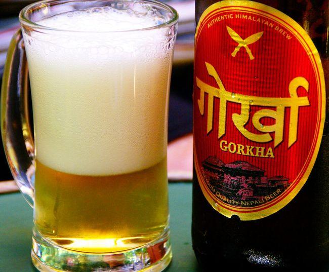 Kathmandu Sams Bar Drinking Beer For You ;-) happy friday!