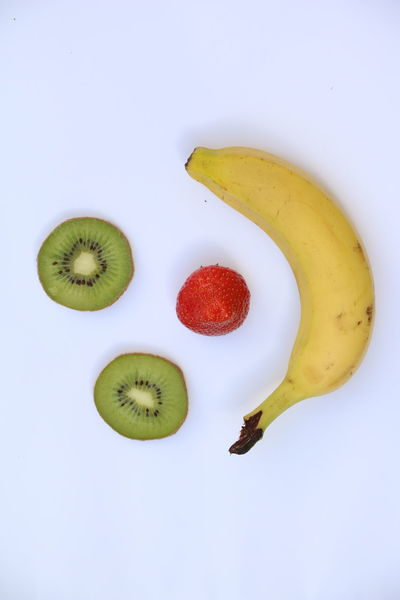 Banana Close-up Food Food And Drink Fruit Healthy Eating Kiwi - Fruit Smile Smiling Face Strawberry Studio Shot