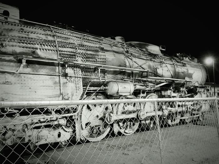 No. 2921 Train Old Train Trainphotography Amtrack Modesto Vintage Train Locomotive Engine Outdoors Steam Train Locomotive