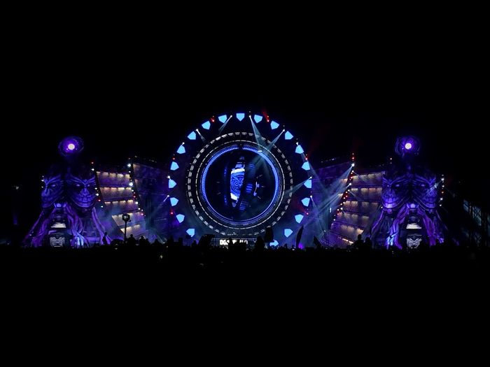 A look to the kinetic field last week at Edcmexico2017 during Don Diablo 's set (feb 26th)