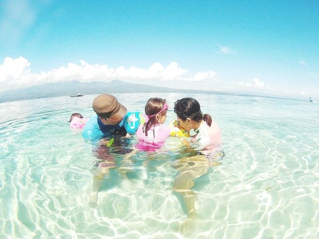Family adventure... Family Adventures Family Trip Family Water The Week On EyeEm People Adventure EyeEmNewHere Philippines Outdoors Nature Beachphotography Beach Beauty In Nature Family Time