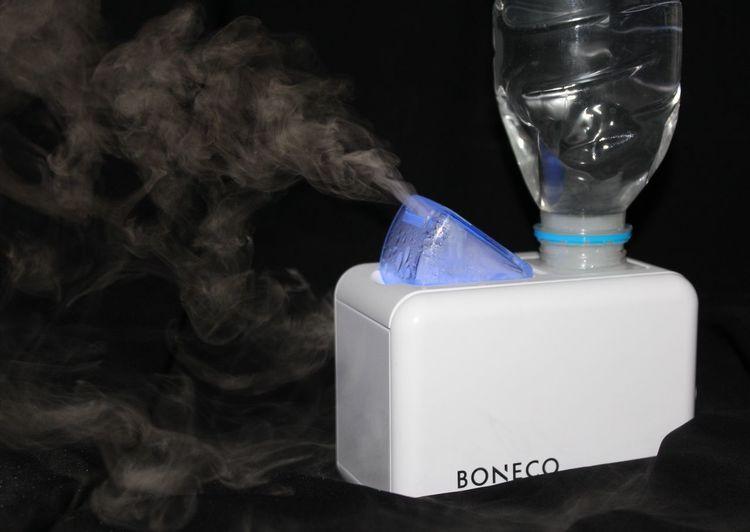 BONECO Air Freshener Air Freshener Freshener Air Smoke Water Smoke Boneco Black Background Studio Shot Jar No People Indoors  Ink Close-up