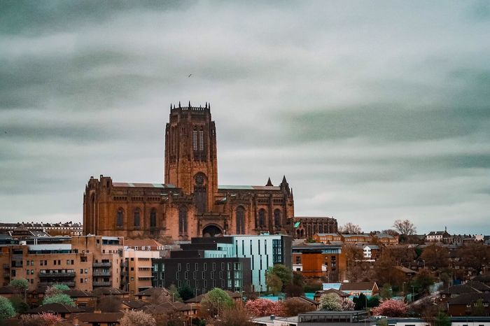 Anglican Cathedral Liverpool Architecture Cloud - Sky Built Structure Building Exterior Place Of Worship City EyeEmNewHere Liverpool Cathedral