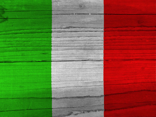 Italian flag Backgrounds Close-up Day Full Frame Green Color Italy Italy Flag Multi Colored Nation Nature No People Outdoors Red Rome Rome Italy State Wood - Material
