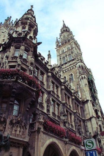 A little throwback from Munich Germany Marienplatz MomoTravels