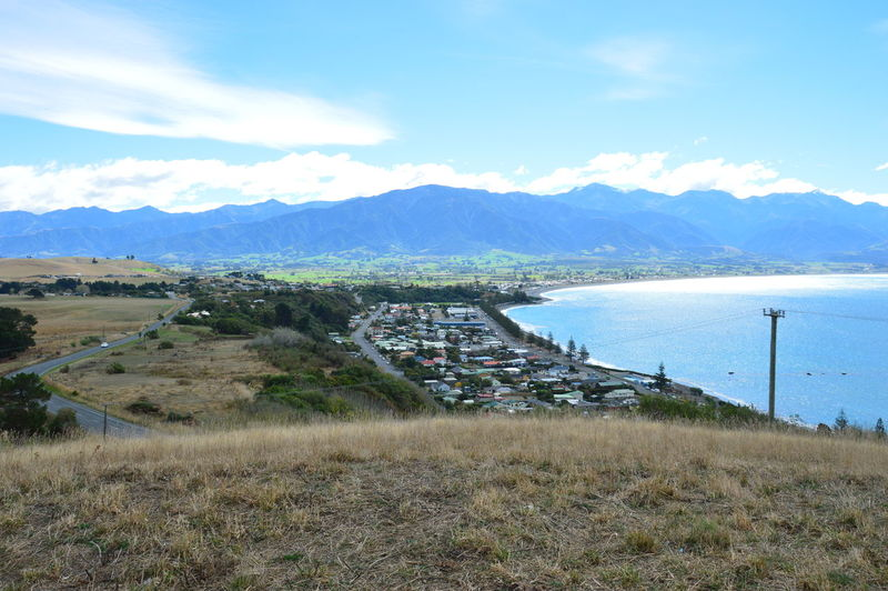 Beauty In Nature Cloud - Sky Kaikoura Landscape Mountain Nature New Zealand No People Outdoors Scenics Sky Water