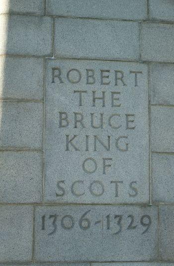 Bannockburn Bannockburn Battlefield Daylight National Trust Scotland No People Robert The Bruce Scotland Statue
