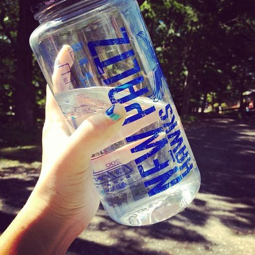 hydrate. man. Nalgene Water Instagood Newpz newpaltz college ashokan nature hike view instalove instagram iphoneonly