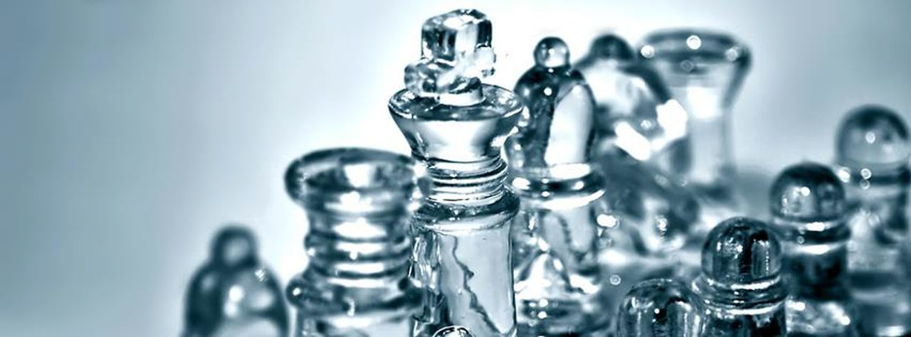Games Chess Close-up Copy Space Extreme Close-up Glass Indoors  Leisure Games Man Made No People Order Selective Focus Strategic Strategy Transparent