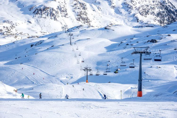 Zillertal, Austria Apres Ski Austria Family Fun Holidays Mayrhofen Seilbahn Skiing Vacations Winter Wintertime Zillertal Alps Alps Mountain Mountains Season  Ski Variation White Background Winter Wonderland Zillertal