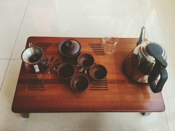 下午闲来无事 来饮一壶茶