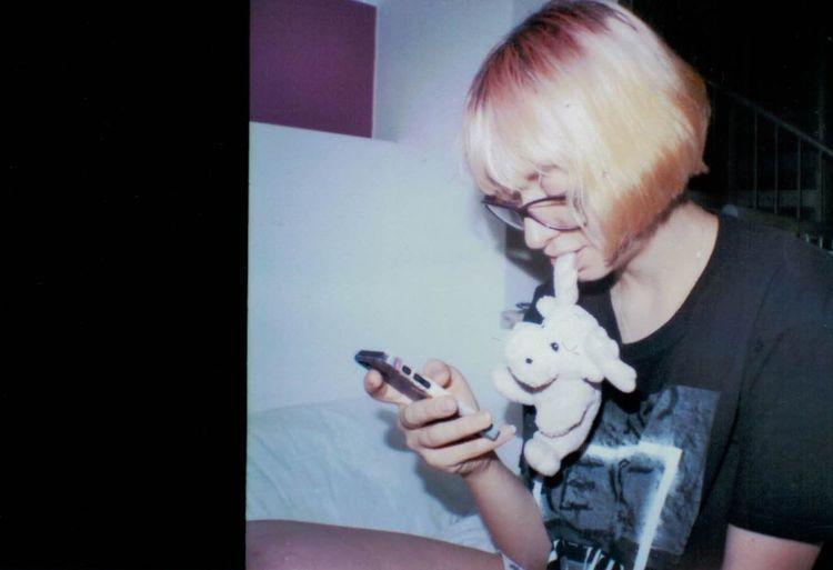 Portrait Of A Friend Analogue Photography Analog