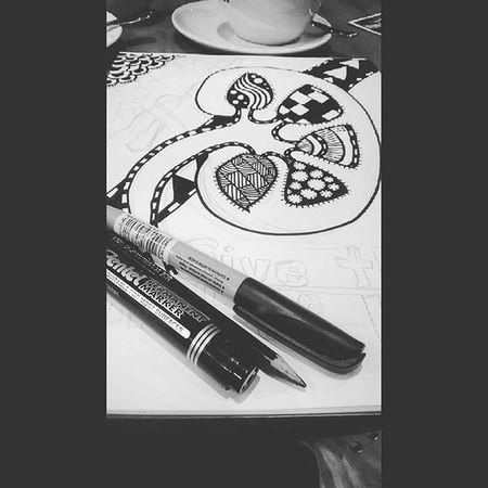 Next design.. Kidney doodle Doodle Artonwait Kidney Art B &w POTD Love