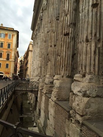 Architecture Built Structure Building Exterior Sky Outdoors Low Angle View City Day No People Ancient Architecture Ancient City Rome Italy🇮🇹 Snap Everywhere