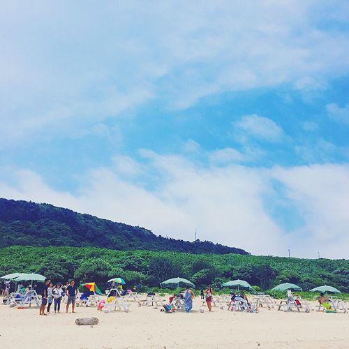 Beach Beachphotography Beach Day Beachumbrella Beachumbrellas Beach Time Beach Photography SandyBeach Okinawa Miyakojima MiyakoIsland OKINAWA, JAPAN Sky Blue Sky And Clouds Blue Sky Bluesky Sky And Clouds Clouds Clouds And Sky Beachday Beachside
