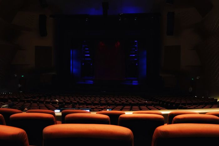 Arts Culture And Entertainment Chair Indoors  Movie Theater Seat Auditorium Film Industry No People Day