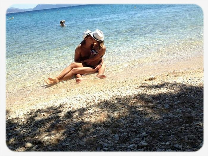 Sea Sea Greece Hi! Mygirlfriend