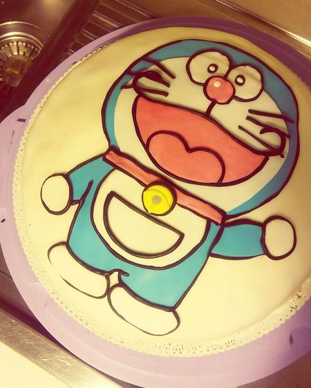 Cooking Cake Birthday Cake Cakedesign Cake Time Cakes Homemade Cake Cakelovers Cakestagram Cake Decorating Torta Tortaalcioccolatobuonissima Panna Doraemon